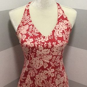 J Crew halter dress size 4.